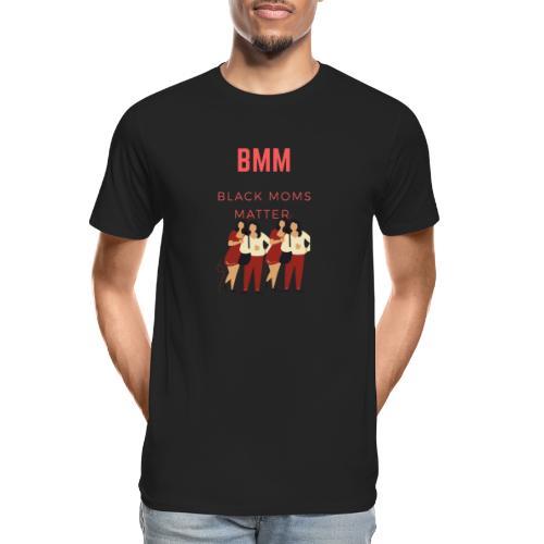 BMM wht bg - Men's Premium Organic T-Shirt