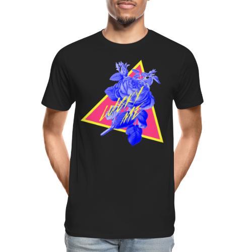 neon flower - Men's Premium Organic T-Shirt