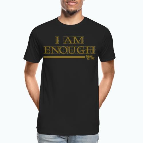 ENOUGH - Men's Premium Organic T-Shirt