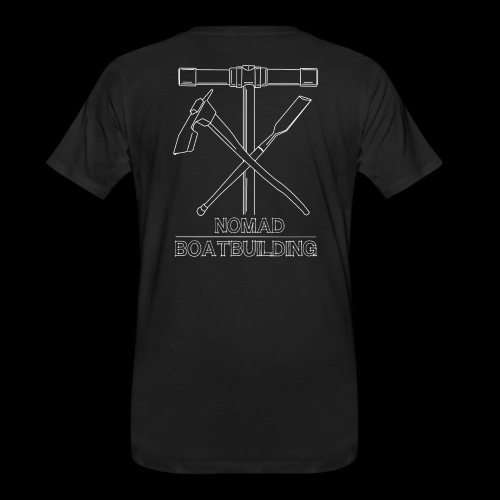 Nomad Shipwright graphic - Men's Premium Organic T-Shirt