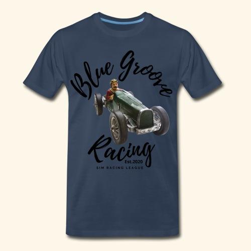Blue Groove Racing Est 2020 - Men's Premium Organic T-Shirt