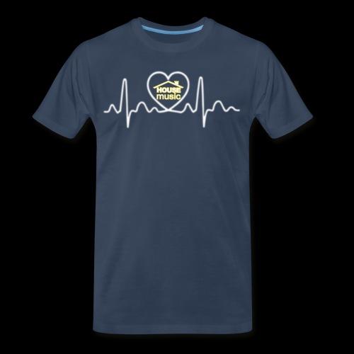 House Music Pulse! - Men's Premium Organic T-Shirt