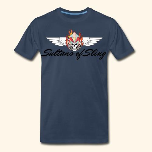 Sultans of Sling Shirt Logo - Men's Premium Organic T-Shirt