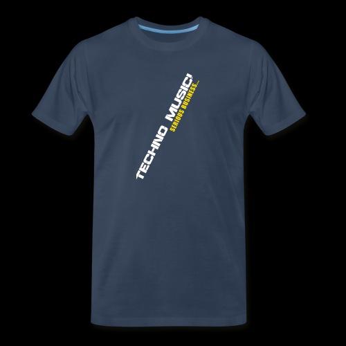 Techno Music - Men's Premium Organic T-Shirt