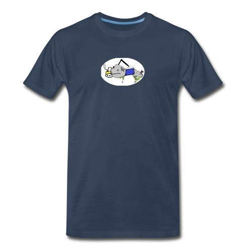 beached - Men's Premium Organic T-Shirt