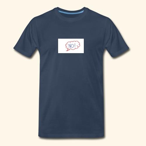 NO! - Grace Sakyi - Men's Premium Organic T-Shirt
