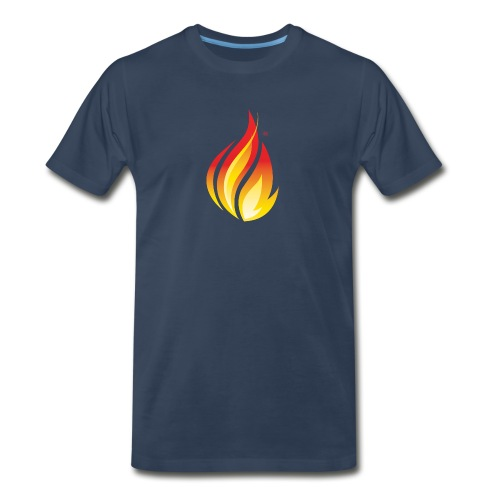 HL7 FHIR Flame Logo - Men's Premium Organic T-Shirt