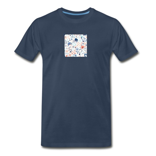 flowers - Men's Premium Organic T-Shirt