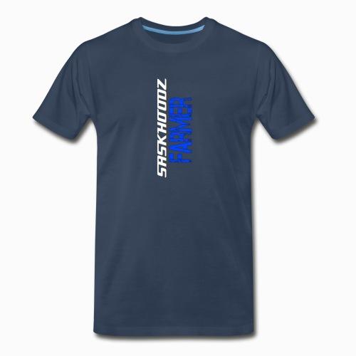 saskhoodz farming - Men's Premium Organic T-Shirt