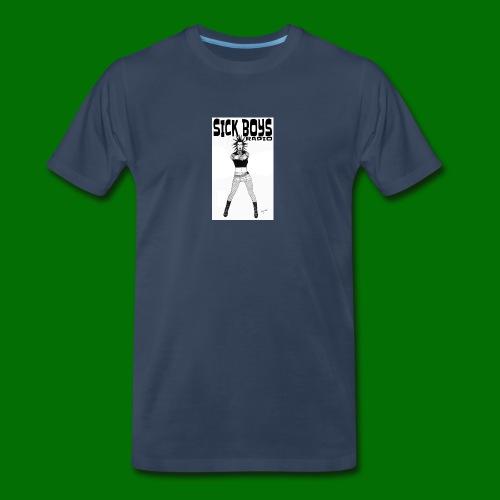 Sick Boys Girl2 - Men's Premium Organic T-Shirt
