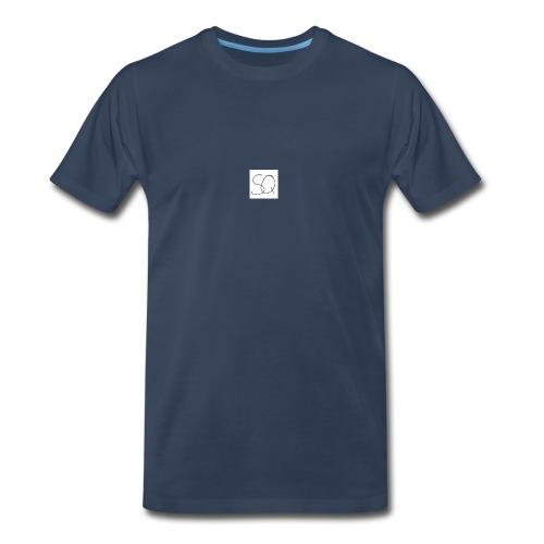 Smokey Quartz SQ T-shirt - Men's Premium Organic T-Shirt