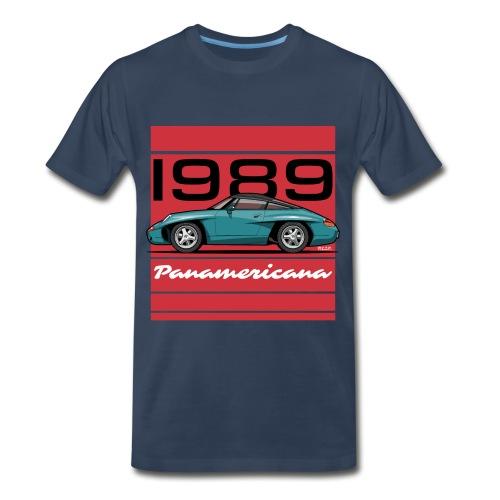 1989 P0r5che Panamericana Concept Car - Men's Premium Organic T-Shirt