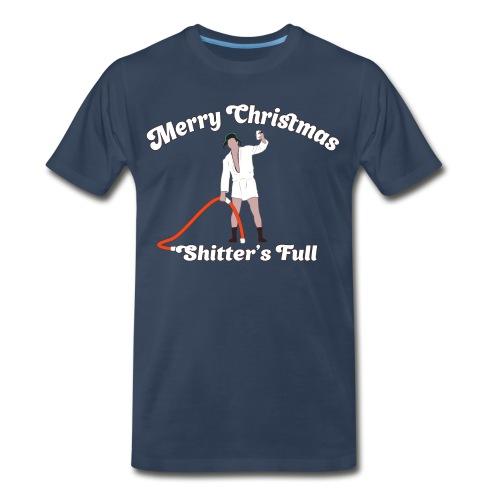 Cousin Eddie - Shitter's Full! - Men's Premium Organic T-Shirt