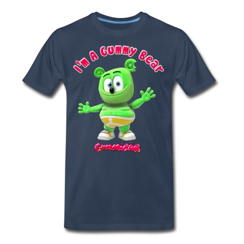 I'm A Gummy Bear - Men's Premium Organic T-Shirt