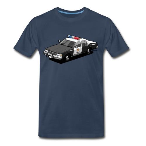 Caprice Classic Police Car - Men's Premium Organic T-Shirt