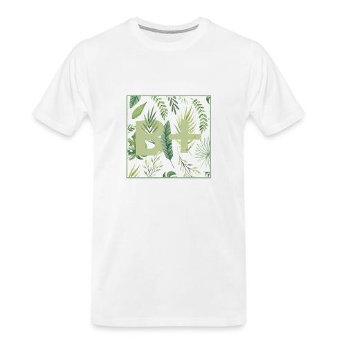 Be positive - Men's Premium Organic T-Shirt