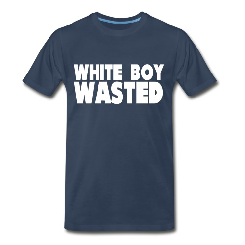 White Boy Wasted - Men's Premium Organic T-Shirt