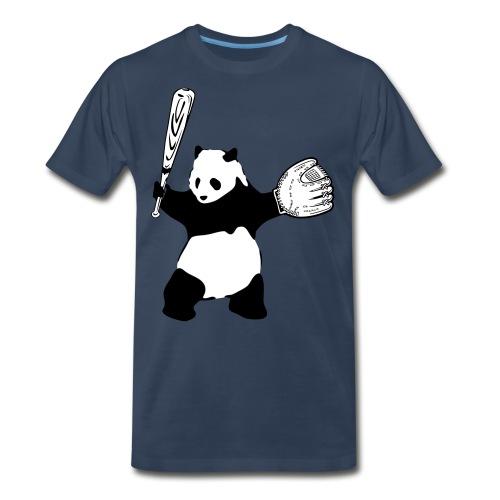 Panda Baseball - Men's Premium Organic T-Shirt