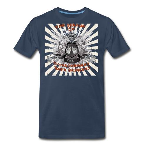 The League of Extraordinary Beer Drinkers Crest Wo - Men's Premium Organic T-Shirt