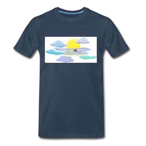 Sea of Clouds - Men's Premium Organic T-Shirt