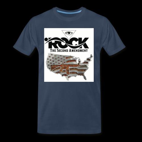 Eye Rock the 2nd design - Men's Premium Organic T-Shirt