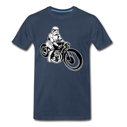 Stormtrooper Motorcycle - Men's Premium Organic T-Shirt