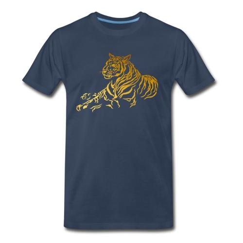 Gold Tiger - Men's Premium Organic T-Shirt