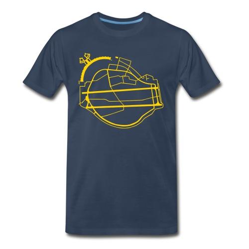 Berlin Tempelhof Airport - Men's Premium Organic T-Shirt