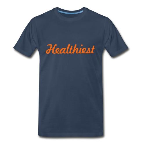 Sick Healthiest Sticker! - Men's Premium Organic T-Shirt