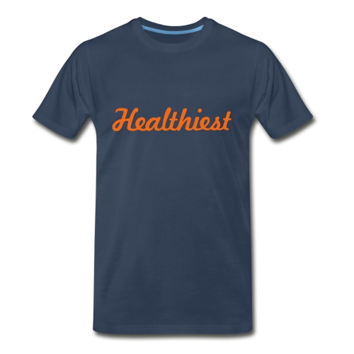Sick Healthiest Sticker! - Men's Premium Organic T-Shirt