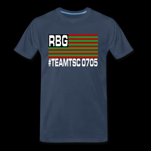 TeamTSC RBGFlag 2 - Men's Premium Organic T-Shirt