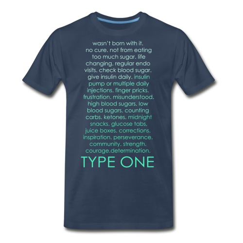 The Inspire Collection - Type One - Green - Men's Premium Organic T-Shirt