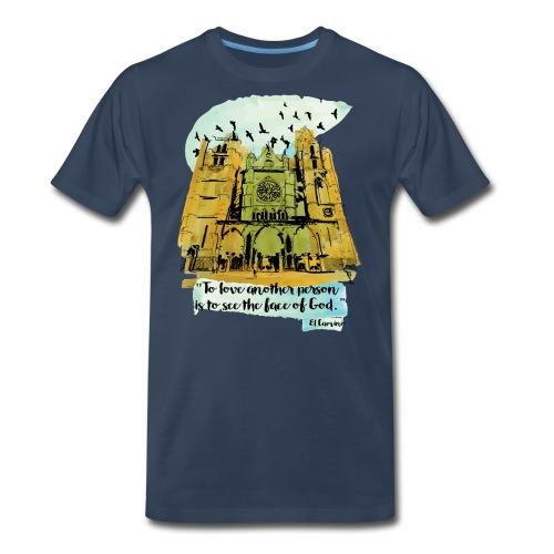El camino - Men's Premium Organic T-Shirt