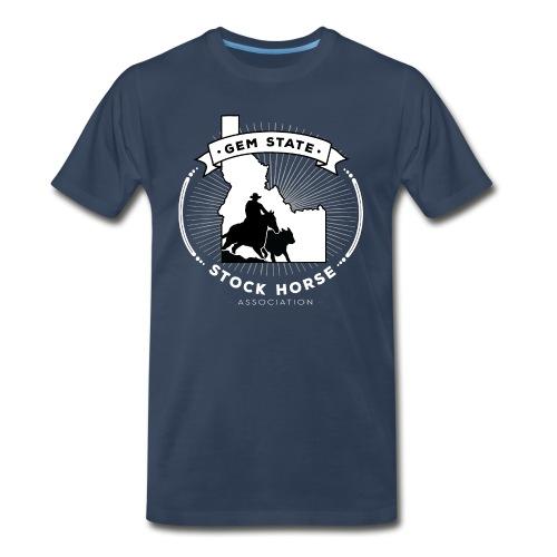 Sunburst Logo - Men's Premium Organic T-Shirt