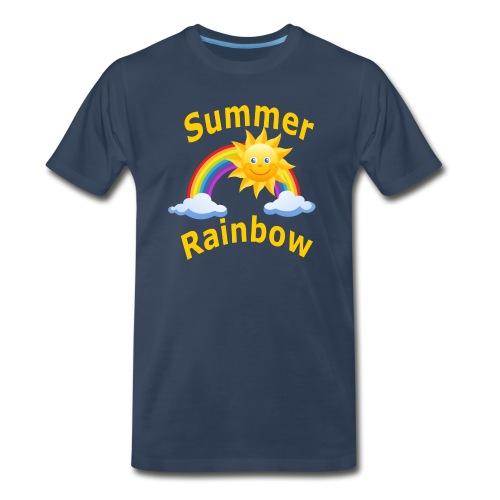 Summer Rainbow - Men's Premium Organic T-Shirt