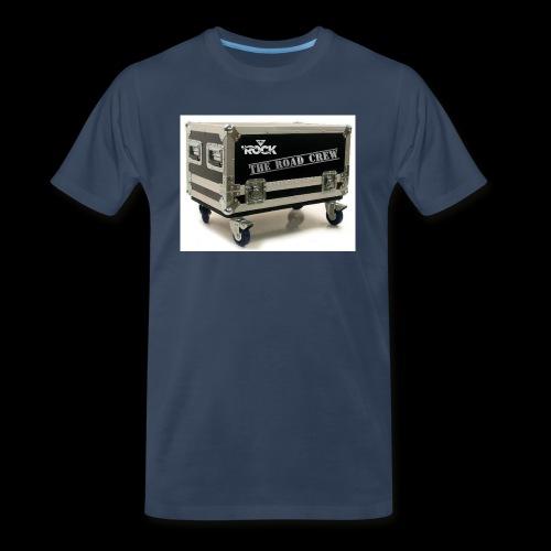 Eye rock road crew Design - Men's Premium Organic T-Shirt