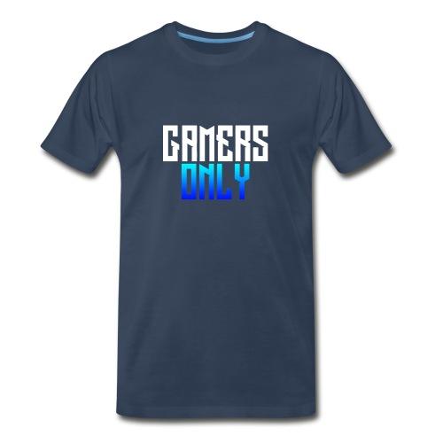 Gamers only - Men's Premium Organic T-Shirt
