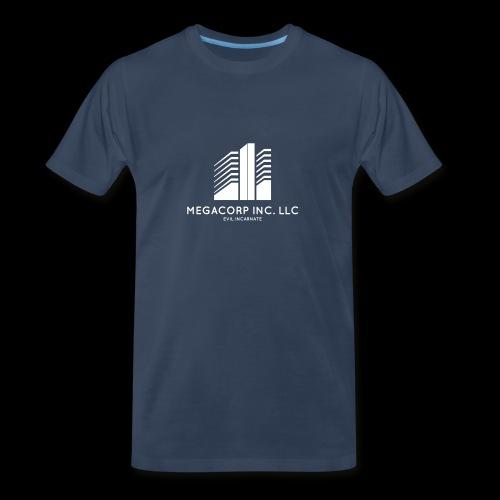 MEGACORP - GIANT EVUL CORPORATION - Men's Premium Organic T-Shirt