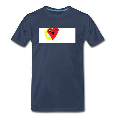 love heat - Men's Premium Organic T-Shirt