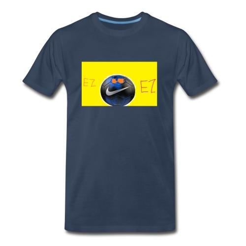 ez soccer tekkerz - Men's Premium Organic T-Shirt