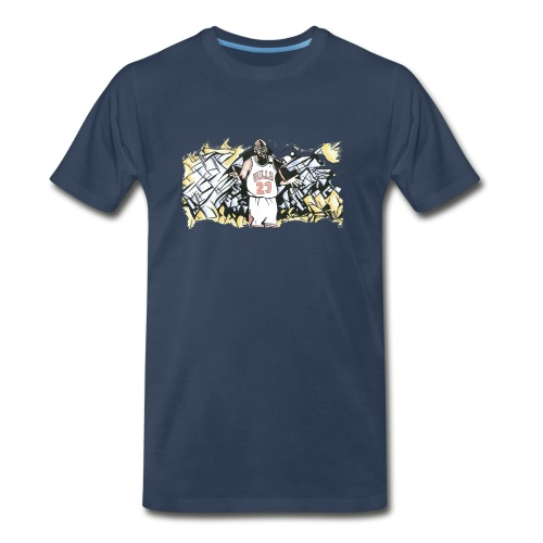 MJ - Men's Premium Organic T-Shirt