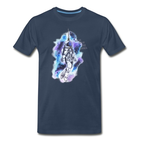Get Me Out Of This World - Men's Premium Organic T-Shirt