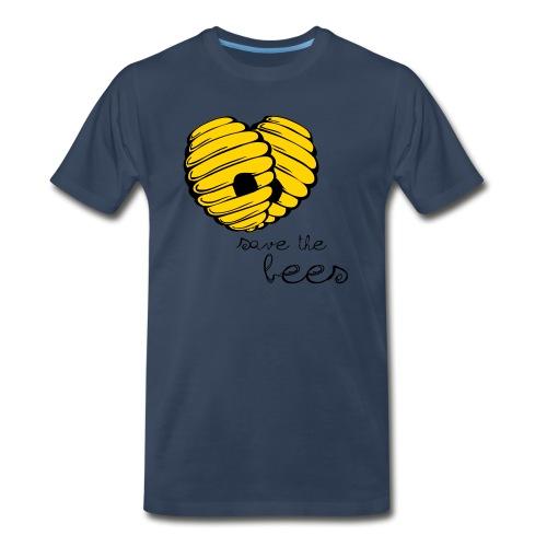 Save the Bees - Men's Premium Organic T-Shirt