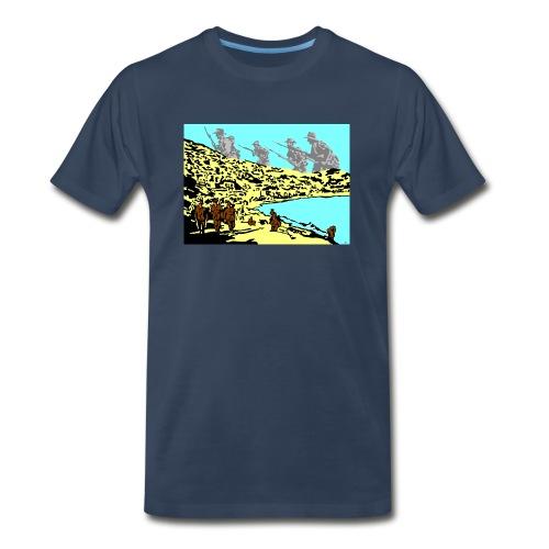 ANZAC - Men's Premium Organic T-Shirt