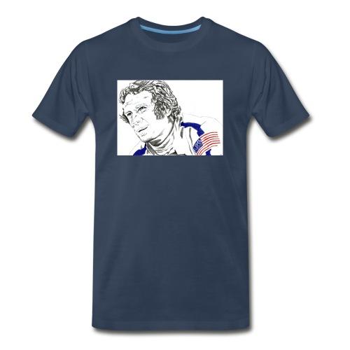 McQUEEN - Men's Premium Organic T-Shirt