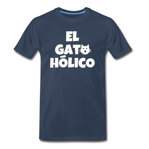 El gato holico - Men's Premium Organic T-Shirt