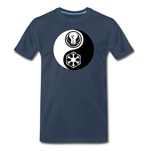 Star Wars SWTOR Yin Yang 2-Color - Men's Premium Organic T-Shirt