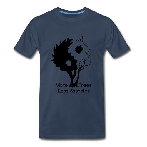 Yin Yang tree MTLA - Men's Premium Organic T-Shirt