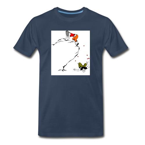 Lady Climber - Men's Premium Organic T-Shirt