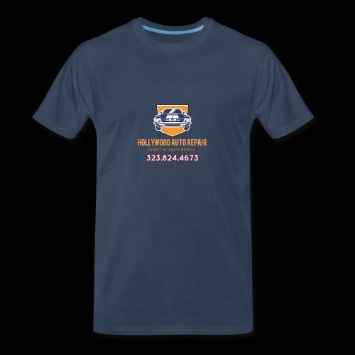 CLASSIC CARS! CLASSIC HOLLYWOOD! - Men's Premium Organic T-Shirt